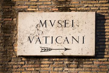 Fortrinnsrett i køen: Tur med liten gruppe til Vatikanmuseene...