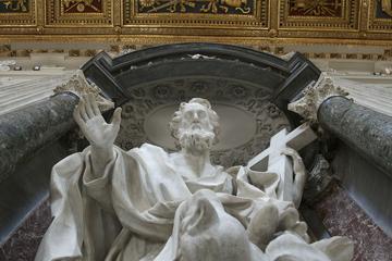 Heldagstur: Vatikanmuseene, Peterskirken og de viktigste basilikaene...