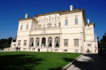 Hoppa över kön: Besök i Galleria Borghese och gångtur i trädgårdarna