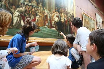 Snabbinträde: Familjevänlig rundtur på Louvren i Paris