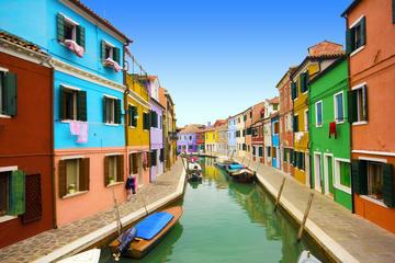 Tour met muranoglas en kant van Burano vanuit Venetië