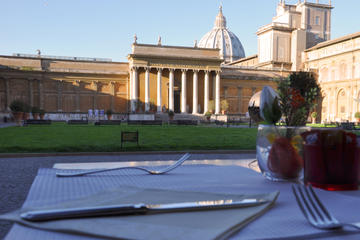 Breakfast at the Vatican and Vatican...
