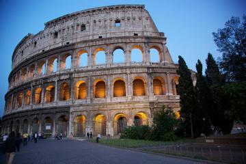 Viator-VIP: Abendessen auf einem Dach in Rom und Führung durch das...