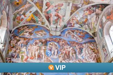 VIP de Viator: visita privada a la Capilla Sixtina y excursión para...