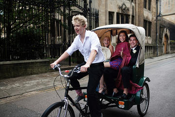 75 mins Oxford City Tour on Pedicab