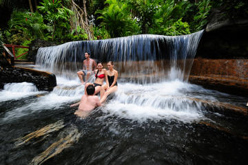 Arenal Volcano Lava Flow Hike and Tabacón Hot Springs with Dinner