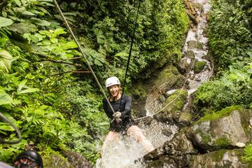 Rappel and Rafting Combo Tour in La Fortuna