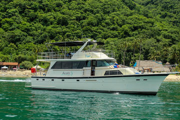 Acalli Hatteras 58 feet Luxury Yacht