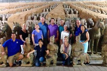 Xian Private Day Tour to Terracotta Warriors with Hot Springs Spa Experience