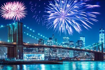 New York 4 juli vuurwerk en skyline cruise