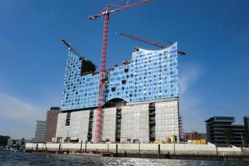 Hamburg Harbor and Elbe River Walking...
