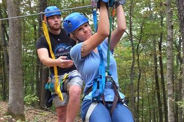 Zip Line Canopy Tour in St Louis