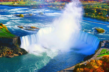 Private Tour of Niagara Falls with Hornblower Cruise, Journey Behind...
