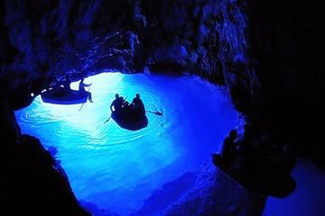 Small Group Tour: Blue Cave and 5 Islands in One Day with Swimming...
