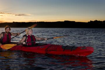 Lake Rotoiti Evening Kayak Tour including Hot Springs, Glowworm Caves...