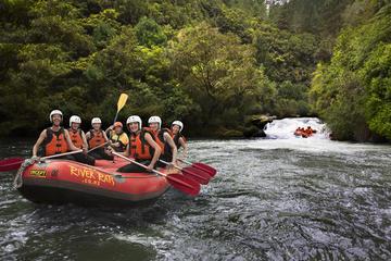 Rafting en eaux vives sur le fleuve Rangitaiki au départ de Rotorua