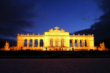 Serata al castello di Schönbrunn