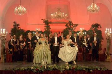 Slottet Schönbrunn på kvällen: Rundtur på slottet, middag och konsert