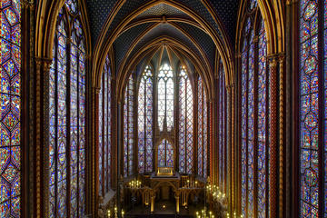 優先入場: シテ宮(Palais de la Cité)のサント シャペル