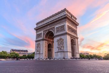 Keine Warteschlangen: Arc de Triomphe einschließlich Zugang zu Terasse
