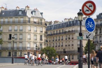 Fietstocht door het hart van Parijs