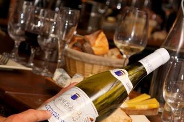 Provning av franska viner och champagne i Paris