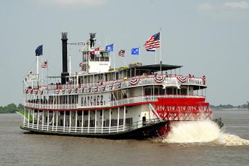 Cruzeiro de brunch com jazz no barco a vapor Natchez, em Nova Orleans
