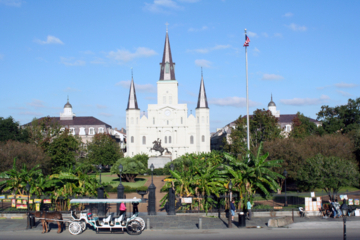 Excursão de ônibus pela cidade de Nova Orleans