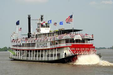 Jazzbrunchkryssning på Steamboat Natchez i New Orleans