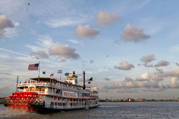 Day Trip Viator VIP: Steamboat Natchez Dinner Cruise with Private Boat and Engine Room Tour near New Orleans, Louisiana
