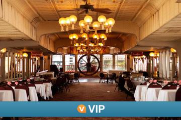 VIP de Viator: crucero con cena en el vapor Natchez con visita...
