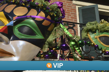 VIP de Viator: Increíble experiencia carnaval Mardi Gras de 4 días