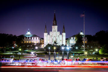 Visite nocturne à la Nouvelle-Orléans: visite et cocktails