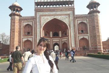 Taj Mahal & Agra fort with Local market on Tuk Tuk(Three wheeler) Tour