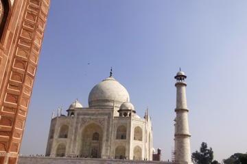Taj Mahal with Local market