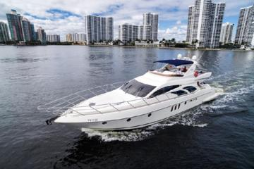 2 Hours Private Charter On A 62' Azimut Fly Bridge Luxury Yacht