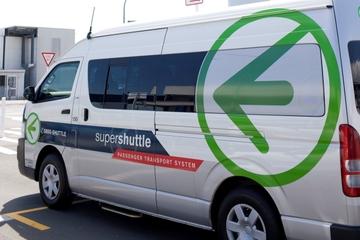 Traslado compartido para llegadas: del aeropuerto de Auckland al hotel