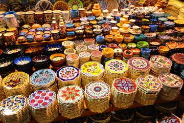 Boottocht over de Bosporus, en Egyptische Bazaar in Istanboel