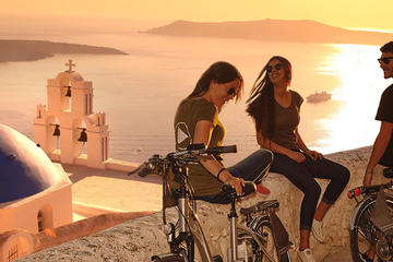 Classical Santorini Tour on Electric Bike