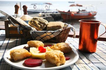 Santorini Food Tour by Electric Bike