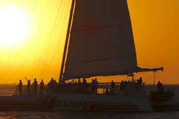 Croisière au champagne au coucher du soleil à Key West