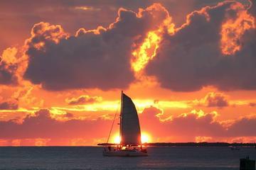 Croisière au coucher du soleil à Key West avec champagne et collation