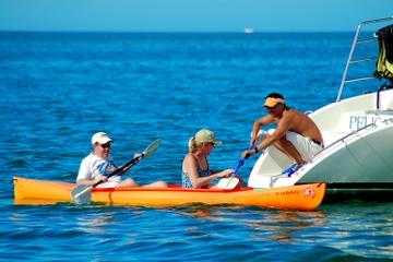Île T'ing sur la Key West: voile, plongée et aventure en kayak