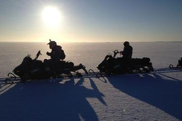 Arctic Circle Snowmobile Safari for Beginners in Rovaniemi