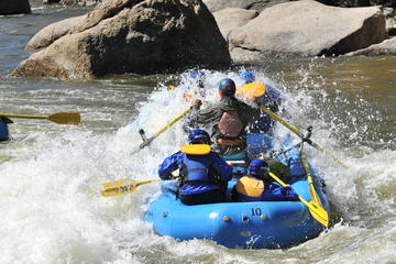 Day Trip Full Day Browns Canyon Rafting near Buena Vista, Colorado