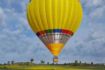 Fahrt im Heißluftballon ab Barcelona