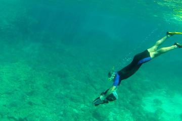 Snorkeling with Sea Scooter in Menorca
