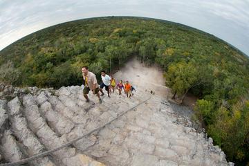 Tulum, Coba-ruïnes, Maya-dorp en zwemmen in cenote: de ...