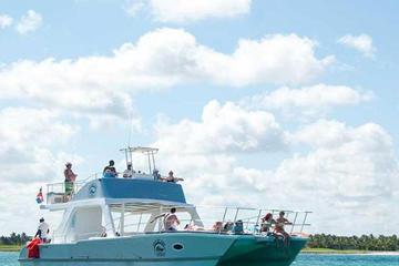 FULL DAY VIP Caribbean Sea Catamaran Experience from Punta Cana