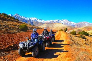 Atlas Mountains Quad Biking Guided Half-Day Tour from Marrakech